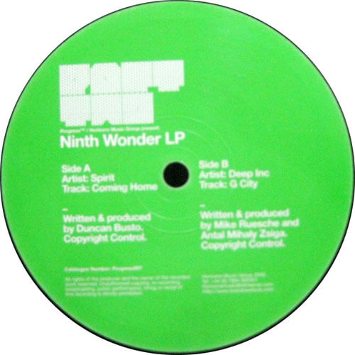 Ninth Wonder LP Part Two