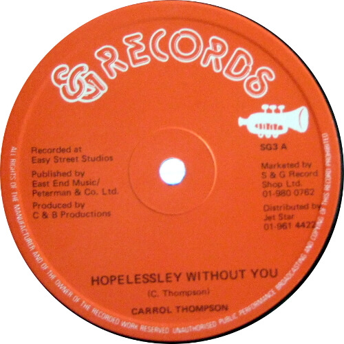 Hopelessley Without You / You Are The One I Love